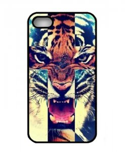 Rawrr Tiger Cross iPhone 5-5S hoesje