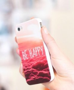 Be Happy Forever iPhone 6 hoesje