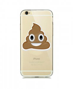 Mr. Poop Emoji iPhone hoesje