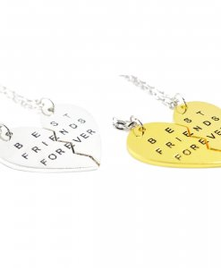 Best Friends Forever BFF ketting voor 2 BFF