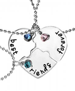 Puzzel Best Friends Forever BFF ketting